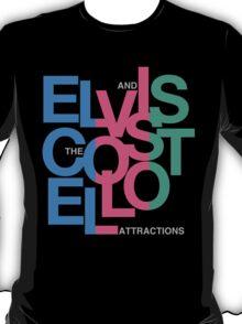 Elvis Costello (Black) T-Shirt