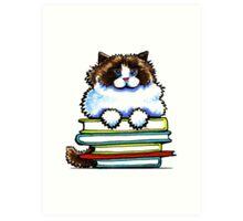 Smart Kitty | Ragdoll/Ragamuffin Art Print
