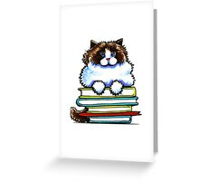 Smart Kitty | Ragdoll/Ragamuffin Greeting Card
