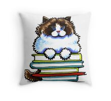 Smart Kitty | Ragdoll/Ragamuffin Throw Pillow