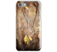 Silence of the Leaves iPhone Case/Skin