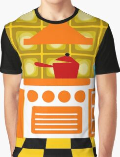 Retro Kitchen Graphic T-Shirt