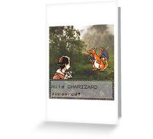 Charizard Encounter Greeting Card