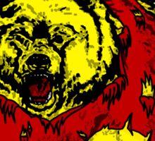 Winnie the Grizzly Pooh Bear Sticker