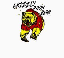 Winnie the Grizzly Pooh Bear Men's Baseball ¾ T-Shirt