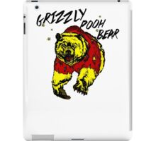 Winnie the Grizzly Pooh Bear iPad Case/Skin