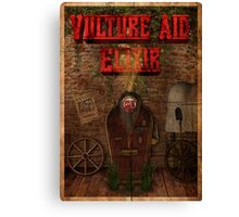 Zombies Vulture Aid Perk Poster - Black Ops 2 Canvas Print