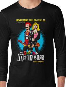 The Sid & Nancy Nintendo Lost Levels Long Sleeve T-Shirt