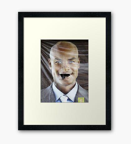 Talkin' Big Framed Print