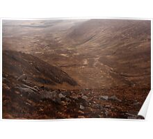 Owendoo Valley From Croaghbane Poster