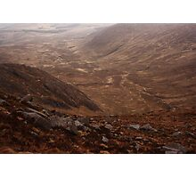 Owendoo Valley From Croaghbane Photographic Print