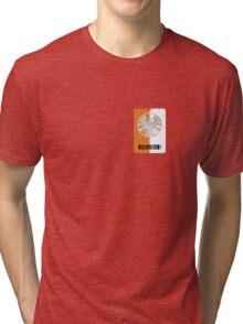 Shield Lanyard Tri-blend T-Shirt