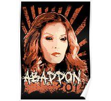 Abaddon 2014 - Queen of Hell Poster