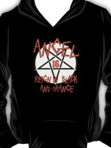 Angel Reign in Black and Orange (outline) T-Shirt