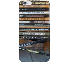 Ice Hockey sticks iPhone Case/Skin