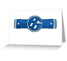 FR-S Pistons GT 86 Greeting Card