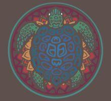 Turtle Amazing Mandala! One Piece - Short Sleeve