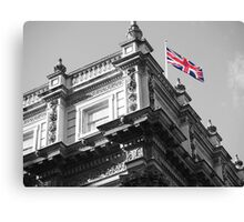 Downing Street Flag Canvas Print