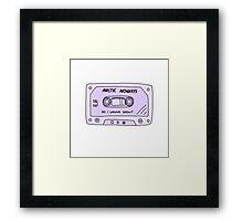 Arctic monkeys cassette tape  Framed Print