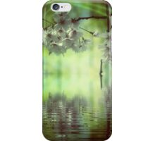 Spring in green and pink iPhone Case/Skin