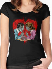 Zombie Romance Women's Fitted Scoop T-Shirt