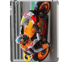 Dani Pedrosa in Jerez 2012 iPad Case/Skin