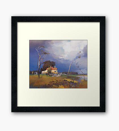 Ash Island Framed Print