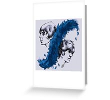 The Last Shadow Puppets Greeting Card