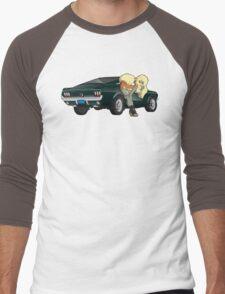 Puppies and a Bullet Men's Baseball ¾ T-Shirt