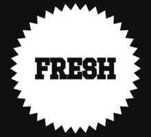 Freshness Seal White Ink | Fresh Thread Shop by FreshThreadShop