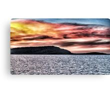 Sunset at Airlie Beach North Qld Canvas Print