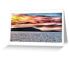 Sunset at Airlie Beach North Qld Greeting Card