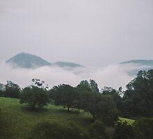 Mountain Saturation by strangerandfict