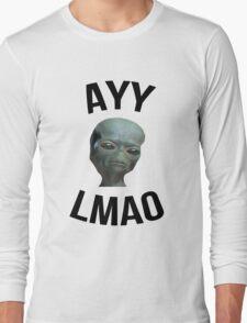Ayy Lmao - White / Light Long Sleeve T-Shirt