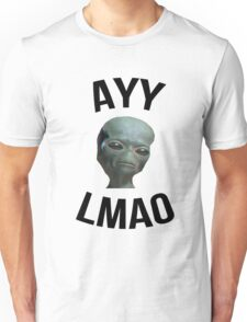 Ayy Lmao - White / Light Unisex T-Shirt
