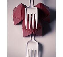 Plastic Eats Photographic Print