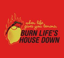 Burn life house Down T-Shirt