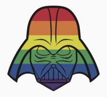 Rainbow Darth Vader Shirt by instinCKt