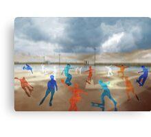 Skateboarding Canvas Print