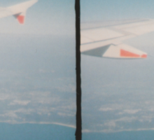 Stereo Flight Sticker