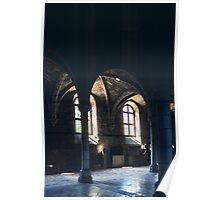 C13 Refectory of Benedictine Abbey Dijon France 19840430 0022  Poster