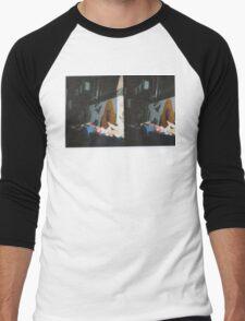Trash Parrot Men's Baseball ¾ T-Shirt