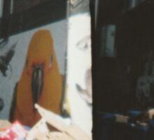 Trash Parrot Sticker
