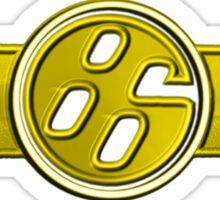 FR-S Pistons GT 86 Yellow Canarino Sticker
