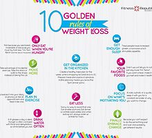 10 Golden Rules of Weight Loss by fitnessrepublic