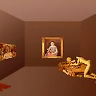 Virtual Gallery with dolls by Marlies Odehnal