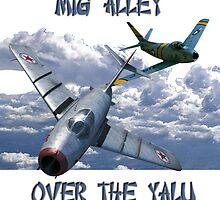 Mig Alley - Over the Yalu by Mil Merchant