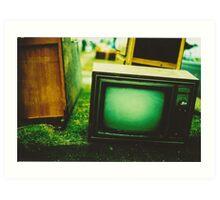 Video killed the radio star Art Print