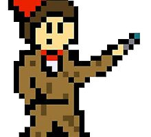 11th Doctor Pixel by J4cked