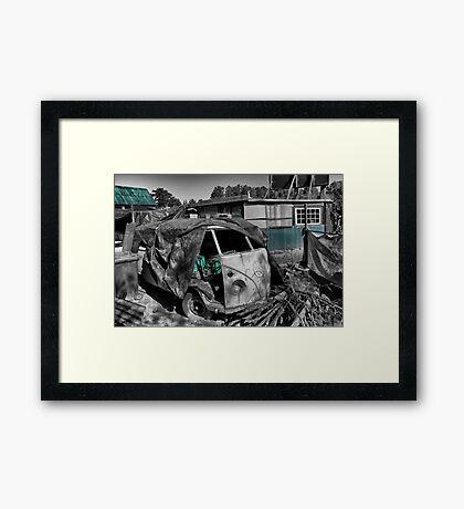 VW Van Split Screen Framed Print
